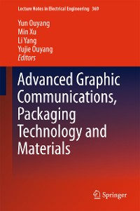 Cover Advanced Graphic Communications, Packaging Technology and Materials