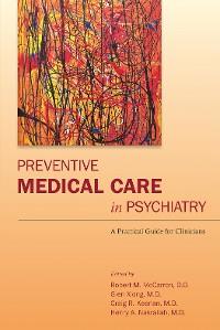 Cover Preventive Medical Care in Psychiatry