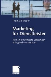 Cover Marketing für Dienstleister
