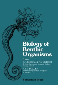 Cover Biology of Benthic Organisms
