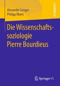 Cover Die Wissenschaftssoziologie Pierre Bourdieus