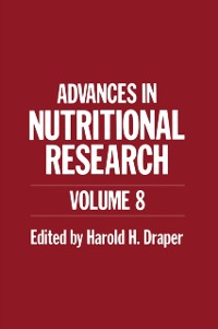 Cover Advances in Nutritional Research