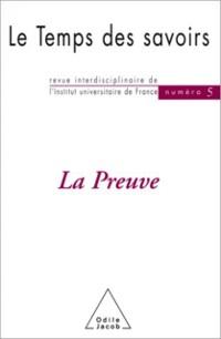 Cover La Preuve