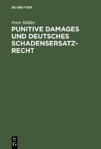 Cover Punitive Damages und deutsches Schadensersatzrecht