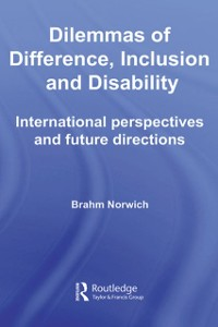 Cover Dilemmas of Difference, Inclusion and Disability