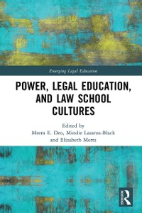 Cover Power, Legal Education, and Law School Cultures