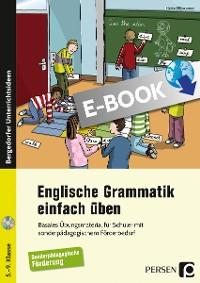 Cover Englische Grammatik einfach üben