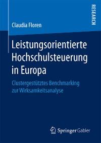 Cover Leistungsorientierte Hochschulsteuerung in Europa