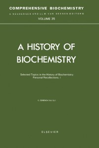 Cover Selected Topics in the History of Biochemistry