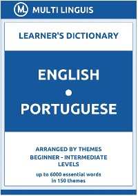 Cover English-Portuguese Learner's Dictionary (Arranged by Themes, Beginner - Intermediate Levels)