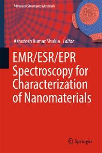 Cover EMR/ESR/EPR Spectroscopy for Characterization of Nanomaterials
