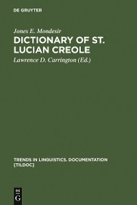 Cover Dictionary of St. Lucian Creole