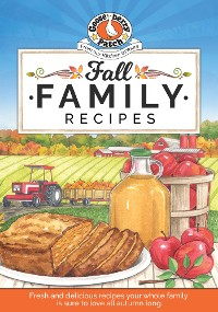 Cover Fall Family Recipes