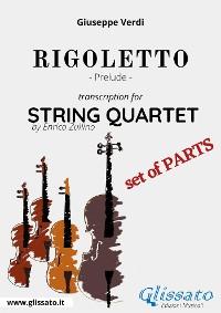 Cover Rigoletto (prelude) String quartet - Set of parts