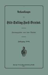 Cover Verhandlungen des Hils-Solling-Forst-Vereins