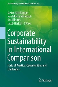Cover Corporate Sustainability in International Comparison