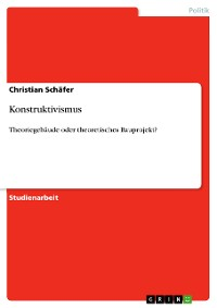 Cover Konstruktivismus