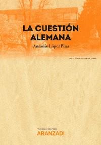 Cover La cuestión alemana