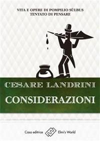 Cover Considerazioni...