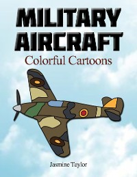 Cover Military Aircraft Colorful Cartoons