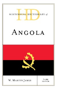 Cover Historical Dictionary of Angola