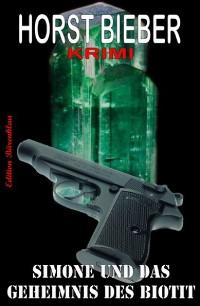 Cover Simone und das Geheimnis des Biotit: Krimi