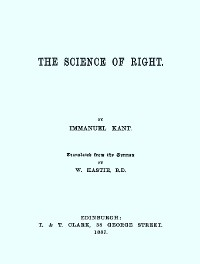 Cover The Science of Right