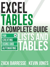 Cover Excel Tables