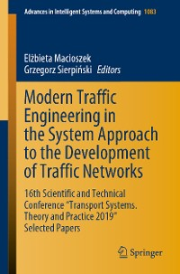 Cover Modern Traffic Engineering in the System Approach to the Development of Traffic Networks