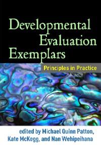 Cover Developmental Evaluation Exemplars