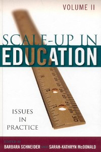 Cover Scale-Up in Education