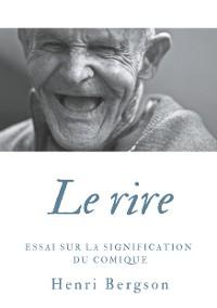 Cover Le rire