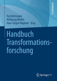 Cover Handbuch Transformationsforschung