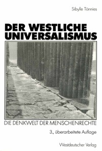 Cover Der westliche Universalismus