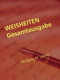 Cover WEISHEITEN Gesamtausgabe