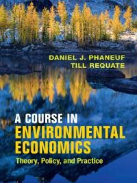 Cover A Course in Environmental Economics