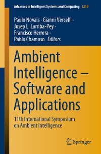 Cover Ambient Intelligence – Software and Applications