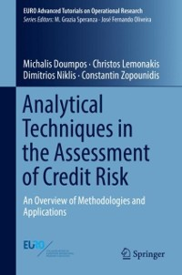 Cover Analytical Techniques in the Assessment of Credit Risk