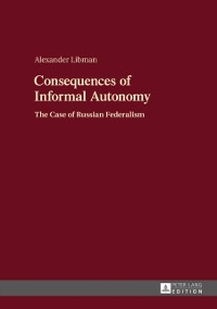 Cover Consequences of Informal Autonomy