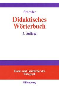 Cover Didaktisches Wörterbuch