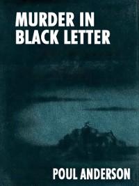Cover Murder in Black Letter
