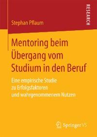 Cover Mentoring beim Übergang vom Studium in den Beruf
