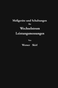 Cover Megerate und Schaltungen fur Wechselstrom-Leitungsmessungen