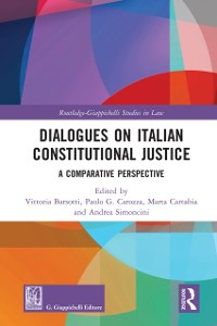 Cover Dialogues on Italian Constitutional Justice