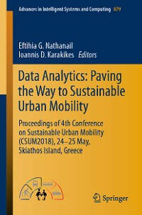 Cover Data Analytics: Paving the Way to Sustainable Urban Mobility
