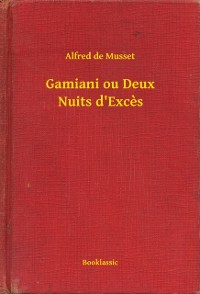 Cover Gamiani ou Deux Nuits d'Exces