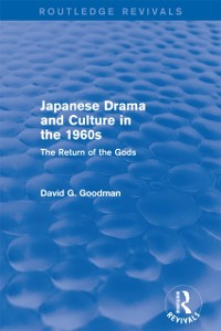 Cover Japanese Drama and Culture in the 1960s