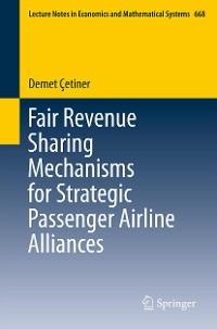 Cover Fair Revenue Sharing Mechanisms for Strategic Passenger Airline Alliances
