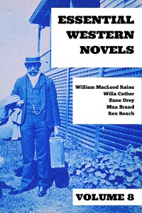 Cover Essential Western Novels - Volume 8