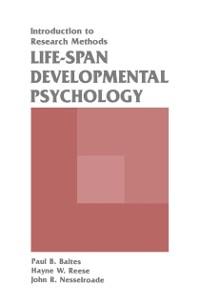 Cover Life-span Developmental Psychology